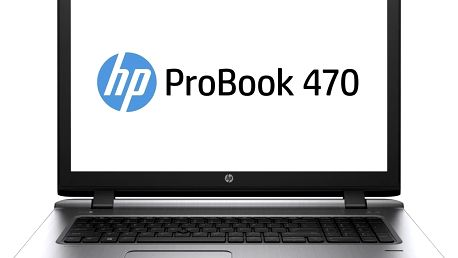 Notebook HP ProBook 470G3 17,3 i5 4G 256G 2G W10P