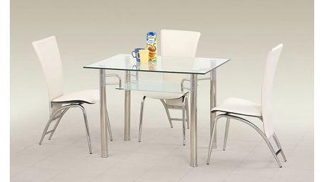Skleněný stůl Erwin