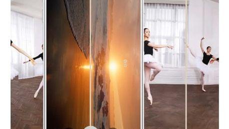 Tvrzené transparentní sklo pro Samsung s barevným lemem - 4 barvy