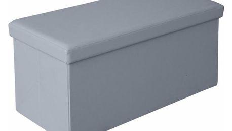 Taburet Moly XL šedá