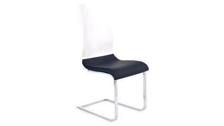Kovová židle K198 černá