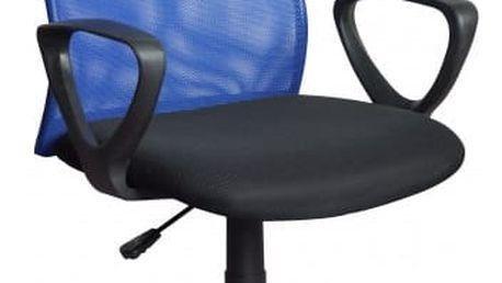 Kancelářská židle Alex M - modrá