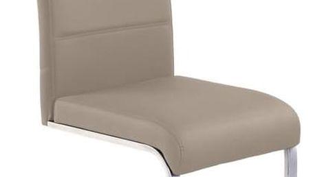 Kovová židle K85 cappuccino