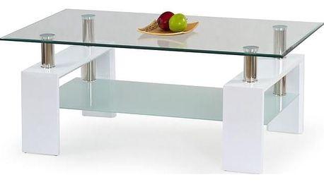 Konferenční stůl Diana H lakovaný bílá