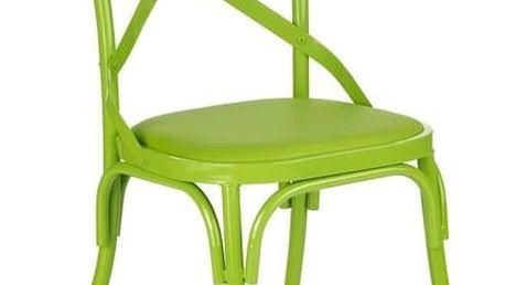 Jídelní židle K216 zelená