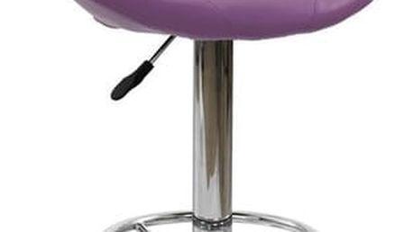 Barová židle H-15 Fialová