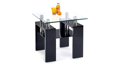 Konferenční stůl Diana H - čtverec černá