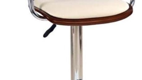 Barová židle H-19 krémová