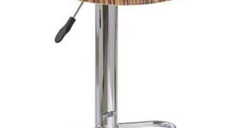 Barová židle H-6 zebra