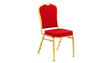 Kovová židle K66 bordo