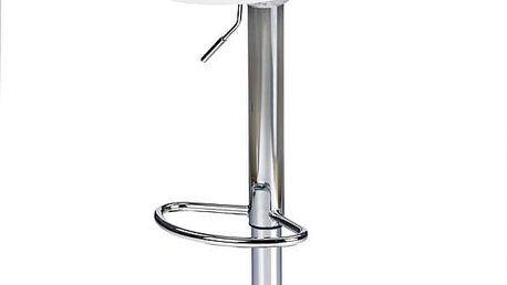 Barová židle H-56 bílá