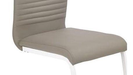 Kovová židle K185 černá