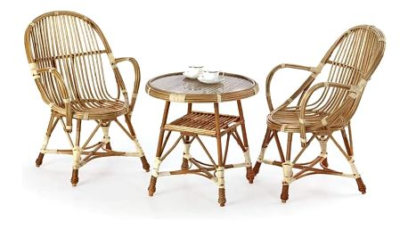 Proutěný stůl Wicker