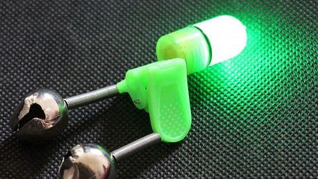 Zvukový a světelný signalizátor záběru - 2 ks