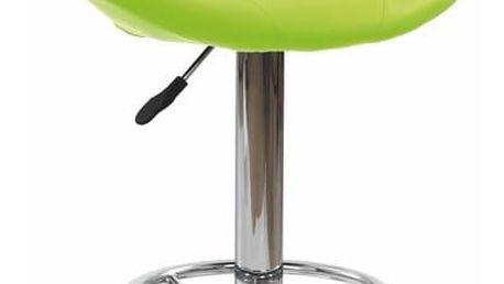 Barová židle H-15 zelená zelená