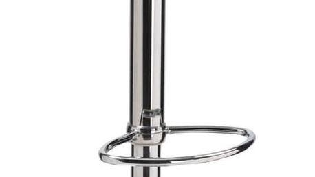 Barová židle H-60 černo-bílá