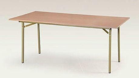 Jídelní stůl Salsa 90x90 cm tmavý ořech