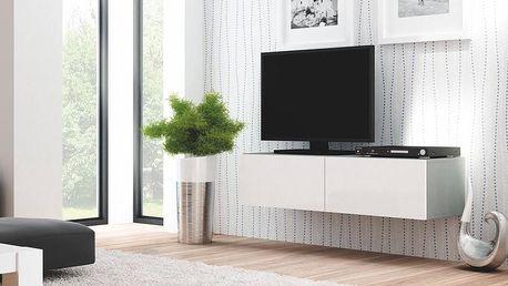 Televizní stolek Livo RTV-160W šedá