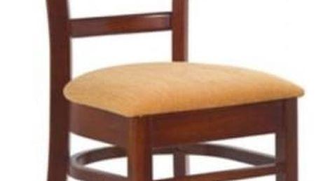 Dřevěná židle K98 antická třešeň