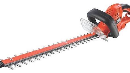 Nůžky na živý plot Black-Decker GT5560 + Doprava zdarma
