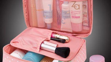 Uzavíratelná taštička na kosmetické přípravky