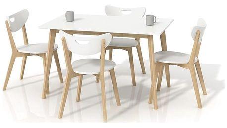 Jídelní stůl Lorrita bílá