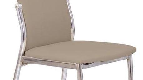 Kovová židle K3 cappuccino