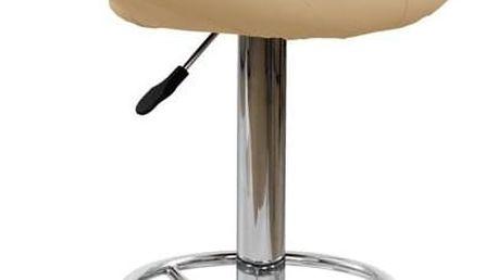 Barová židle H-15 tmavě béžová tmavě béžová