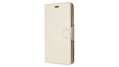 Pouzdro na mobil flipové FIXED pro Huawei P8 Lite (FIXBC-043-WH) bílé