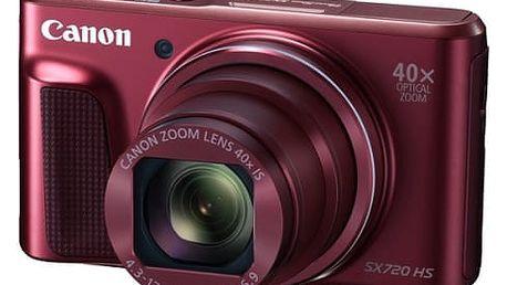 Digitální fotoaparát Canon SX720HS (1071C002) červený