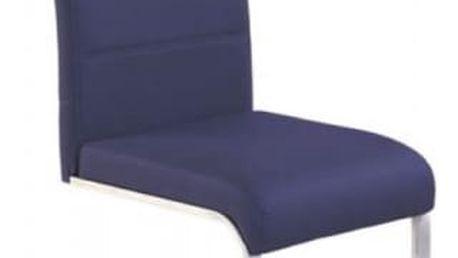 Kovová židle K85 fialová