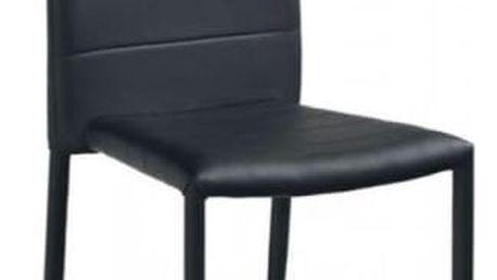 Kovová židle K116 černá