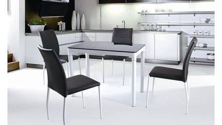 Skleněný stůl Argus černá