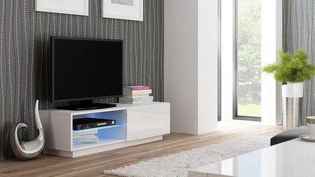 Televizní stolek Livo RTV-120S bílá