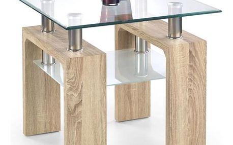 Konferenční stůl Diana H - čtverec bílá