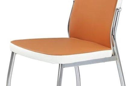 Jídelní židle K210 oranžová