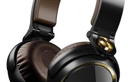 Sluchátka Sony MDR-XB600N zlatá