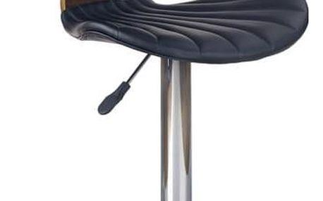 Barová židle H-65 černá
