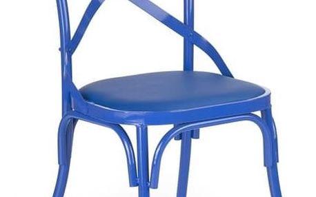 Jídelní židle K216 modrá