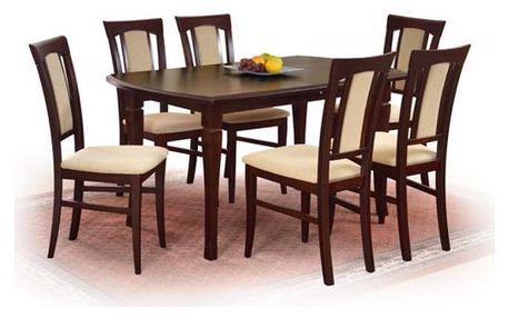 Dřevěný jídelní stůl Fryderyk 240 cm ořech
