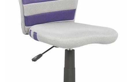 Dětská židle Fuego fialová