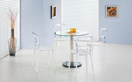 Skleněný jídelní stůl Cyryl