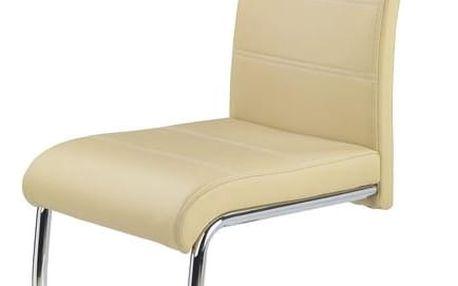 Jídelní židle K211 béžová