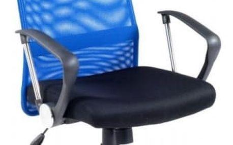 Kancelářská židle Vire modro-černá