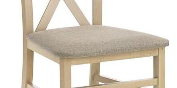 Dřevěná židle Dariusz dub sonoma2