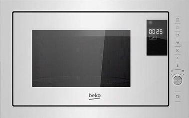 Vestavná mikrovlnná trouba Beko MGB 25333 WG
