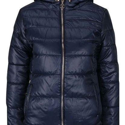 Tmavě modrá prošívaná bunda Haily´s Nina