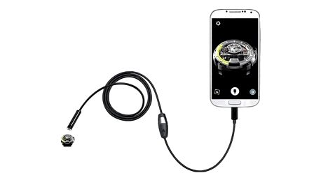 Micro USB endoskop s LED osvícením - 2 m / 5,5 mm