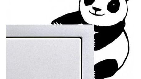 Samolepka na vypínač - Panda