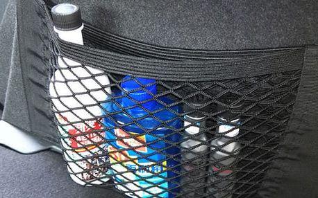 Univezální síťová kapsa do auta na suchý zip